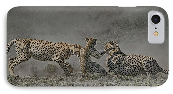 IPhone Case featuring the photograph The Mating Game by Gary Hall