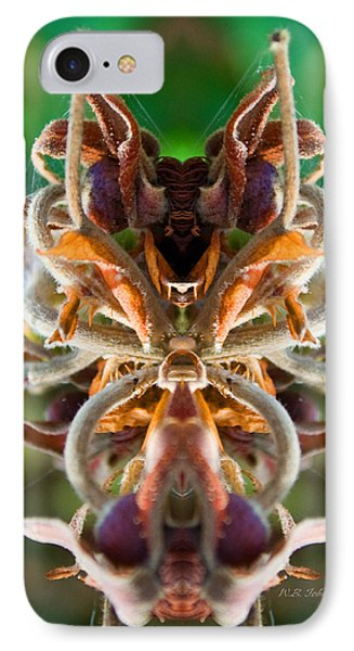 IPhone Case featuring the photograph The Mating by WB Johnston