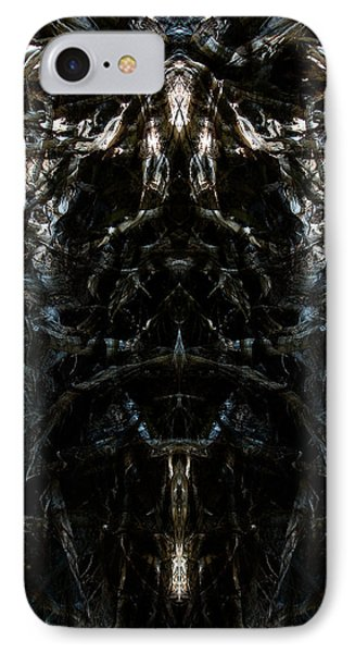 IPhone Case featuring the photograph The Maw Of Evil by Christophe Ennis