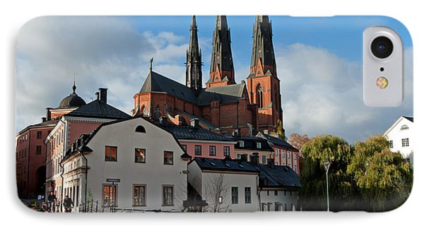 The Medieval Uppsala IPhone Case by Torbjorn Swenelius
