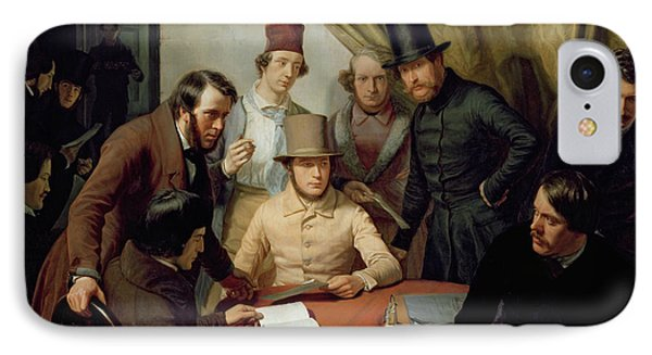 The Members Of The Hamburg Artist's Club IPhone Case