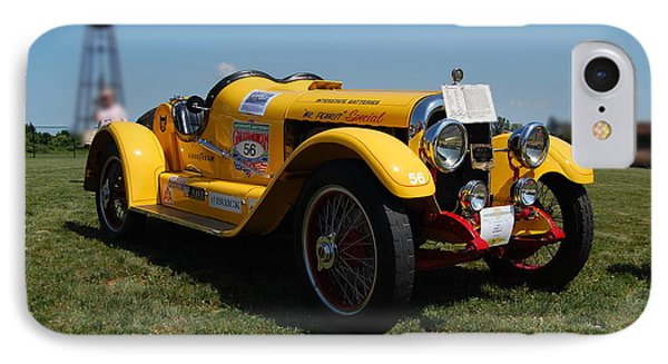 The Mercer Raceabout Roadster IPhone Case by Mustafa Abdullah