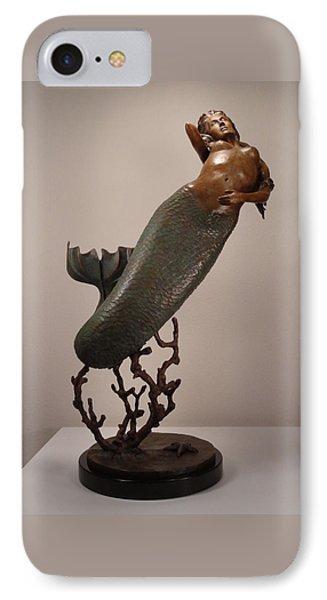The Mermaid Phone Case by Lisbeth Sabol