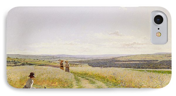 The Midday Rest  IPhone Case by Jean F Monchablon