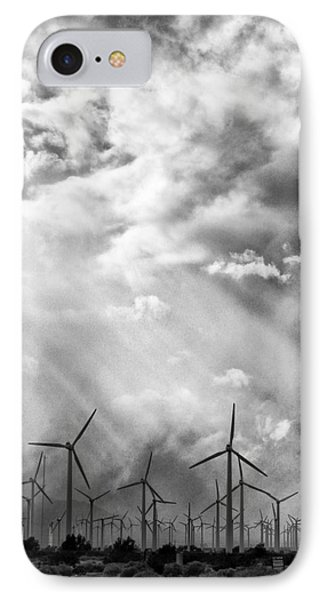 The Mighty Wind Palm Springs Phone Case by William Dey
