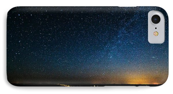 The Milky Way And My Shadow IPhone Case