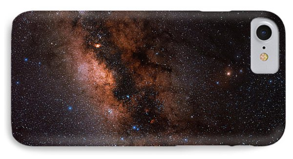 The Milky Way In Scorpius And Sagittarius IPhone Case by Babak Tafreshi