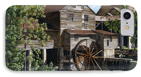 The Mill At Pigeon Forge IPhone Case by Marla J McCormick
