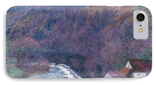 The Mill At Vervy IPhone Case by Claude Monet
