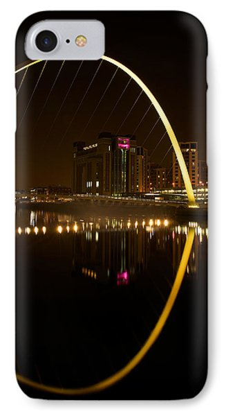The Millenium Bridge At Night Phone Case by Stephen Taylor