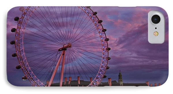 The Millennium Wheel IPhone Case by Gary Hall