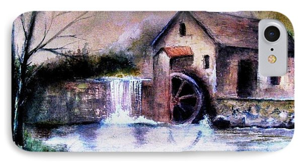 IPhone Case featuring the painting The Millstream by Hazel Holland