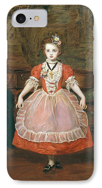 The Minuet  IPhone Case by Sir John Everett Millais