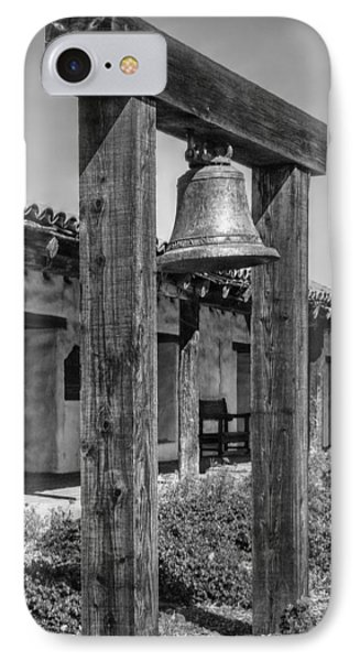 The Mission Bell B/w IPhone Case by Hanny Heim