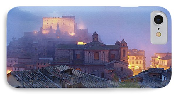 The Mists Of Soriano Phone Case by Ellen Henneke