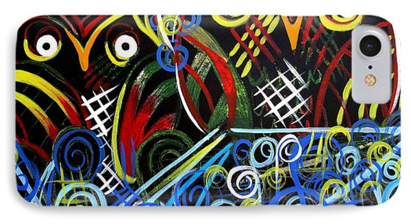 IPhone Case featuring the painting The Mix by Amy Sorrell