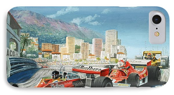 The Monaco Grand Prix IPhone Case