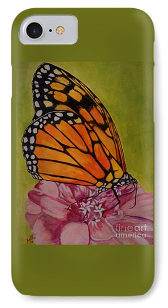The Monarch IPhone Case by Suzette Kallen