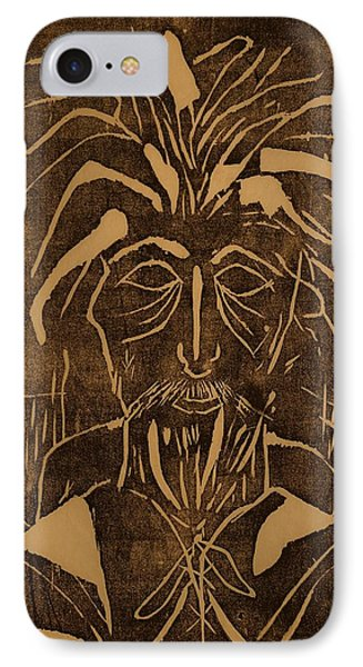 The Monk IPhone Case by Erika Chamberlin