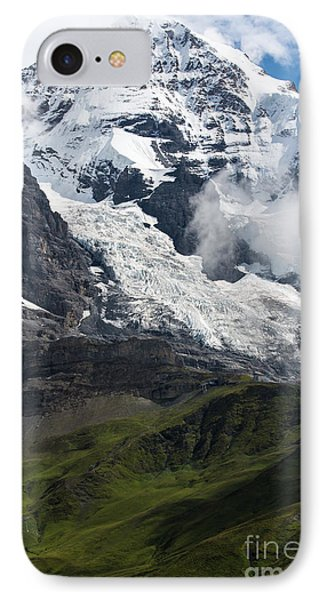The Monk - Swiss Bernese Alps IPhone Case
