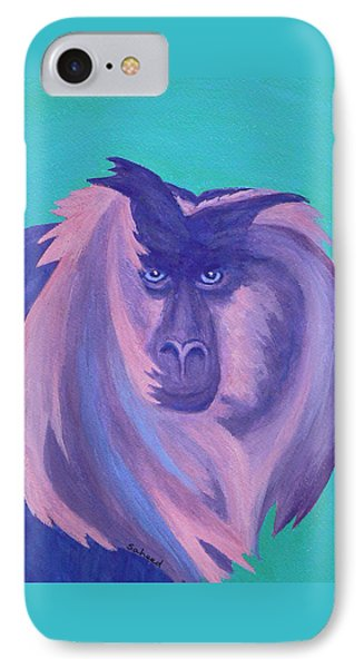 The Monkey's Mane IPhone Case