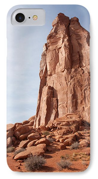 IPhone Case featuring the photograph The Monolith by John M Bailey