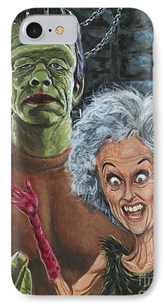 The Monster And His More Intelligent Mate IPhone Case