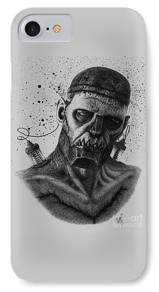 The Monster IPhone Case by Wave
