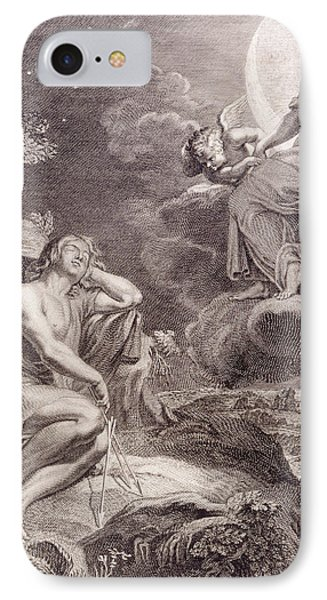 The Moon And Endymion Phone Case by Bernard Picart