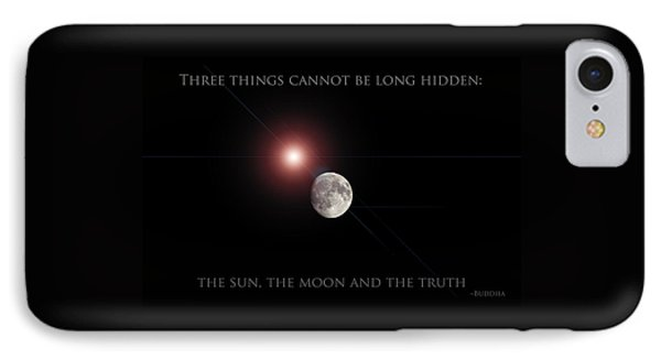 IPhone Case featuring the photograph The Moon by Pennie  McCracken