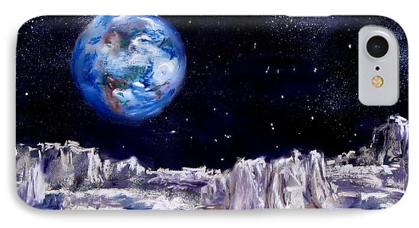 The Moon Rocks Phone Case by Jack Skinner