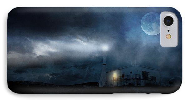The Moon Touches Your Shoulder Phone Case by Taylan Apukovska