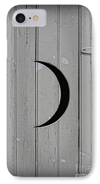 The Moonlight Outhouse Phone Case by Lee Dos Santos