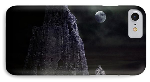 The Moonshine On The Castle Phone Case by Terri Waters
