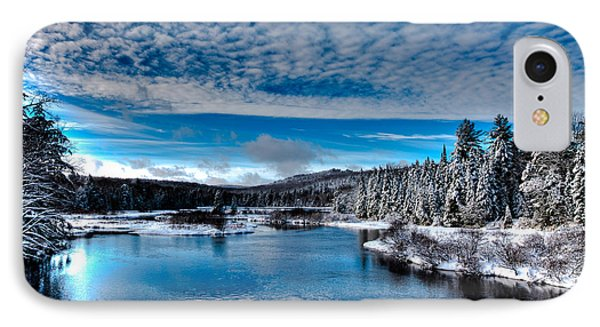 The Moose River In Early December IPhone Case by David Patterson