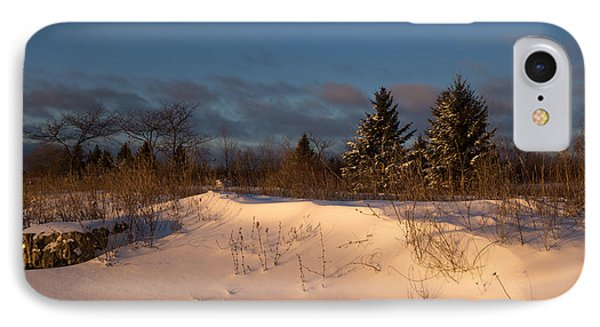 The Morning After The Snowstorm IPhone Case