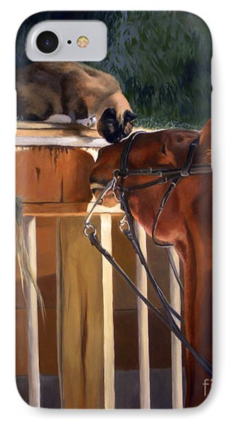 The Morning Buzz IPhone Case by Jeanne Newton Schoborg