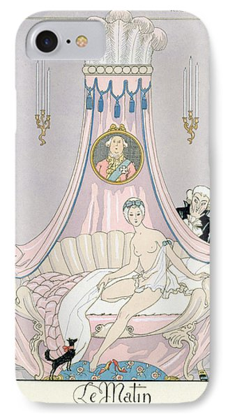 The Morning IPhone Case by Georges Barbier