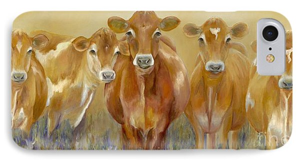 The Morning Moo IPhone 7 Case by Catherine Davis