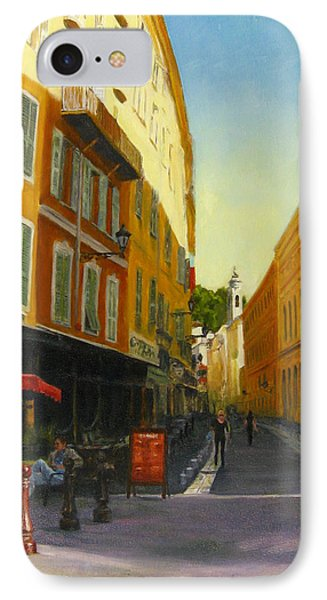The Morning's Shopping In Vieux Nice IPhone Case