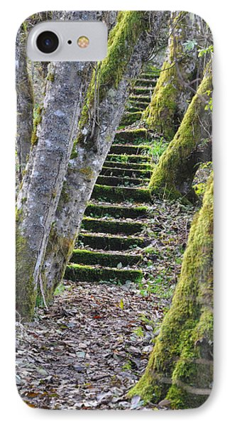 The Moss Stairs IPhone Case by Kirt Tisdale