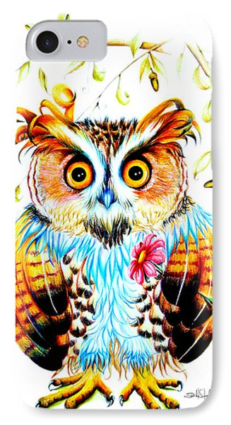 The Most Beautiful Owl IPhone Case by Isabel Salvador