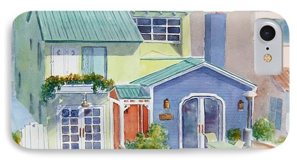 The Most Colorful Home In Belmont Shore IPhone Case by Debbie Lewis