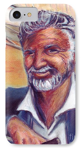The Most Interesting Man In The World IPhone Case