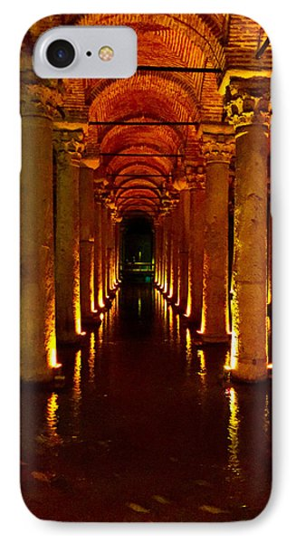 The Most Romantic Place Of Istanbul IPhone Case by Zafer Gurel
