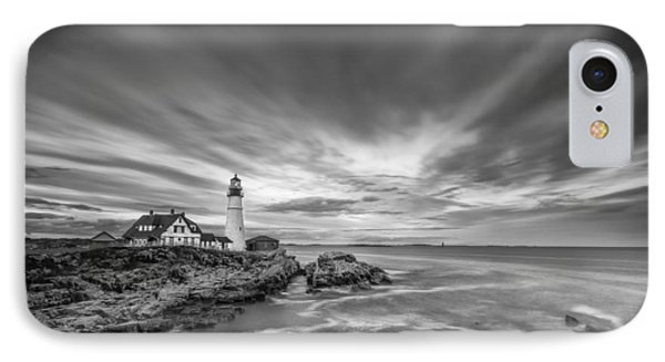 The Motion Of The Lighthouse IPhone Case by Jon Glaser