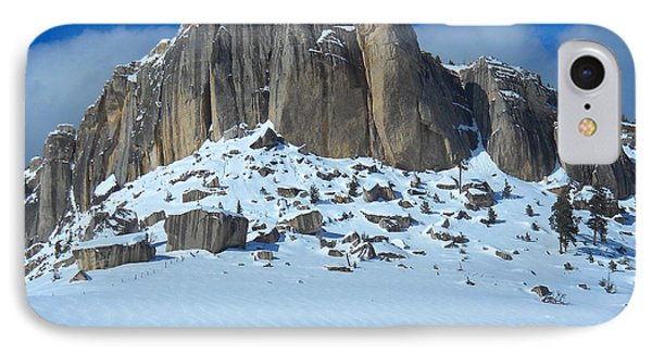 IPhone Case featuring the photograph The Mountain Citadel by Michele Myers