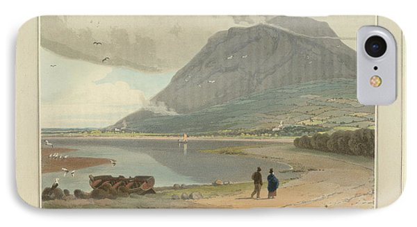 The Mountain Peak Of Penman-mawr IPhone Case by British Library