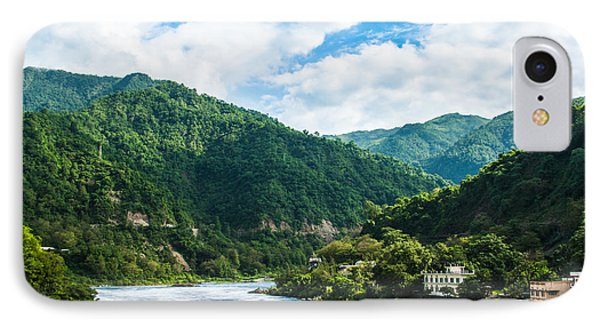 The Mountain Valley Of Rishikesh IPhone Case