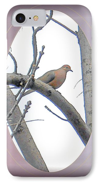 The Mourning Dove Phone Case by Patricia Keller